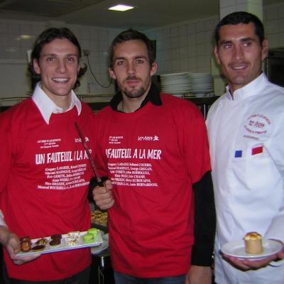 Sebastien Squillaci, Gael Givet, Julien Rodriguez