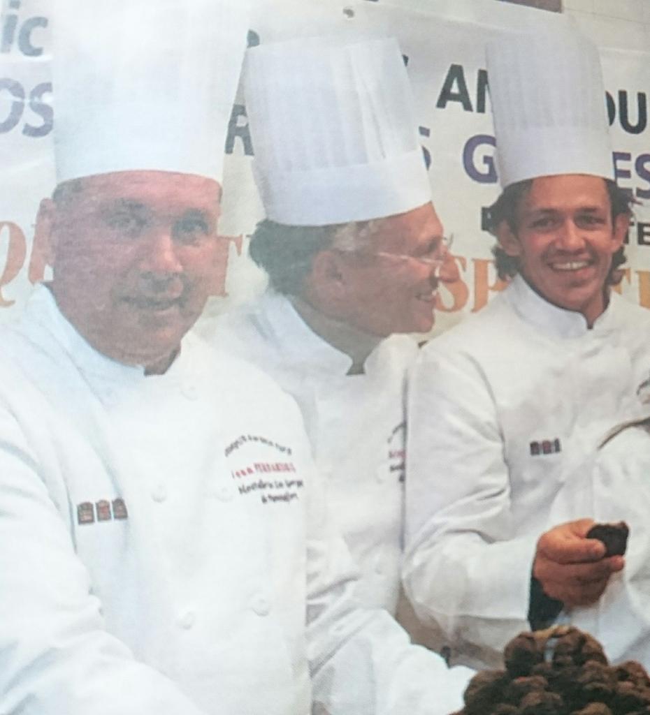 Jean Fernandez, Nelson Monfort, Ludovic Lousteau