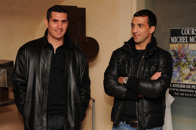 Julien Rodriguez, Rudi Riou